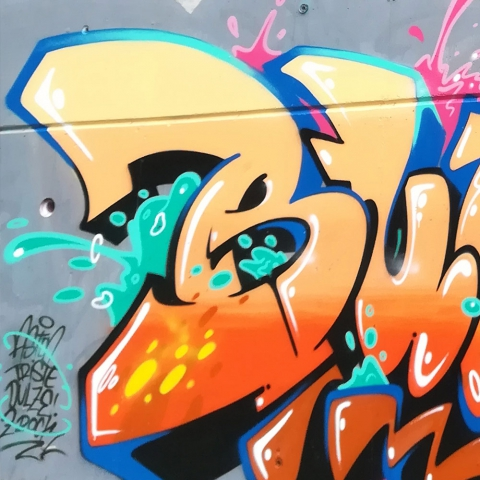 Graffiti Bure Fresh Orange